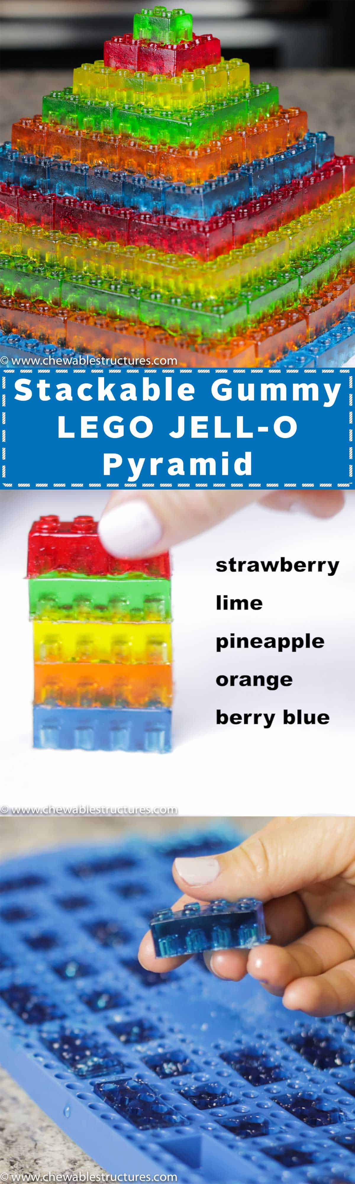 Learn how to make gummies in this fun video. You can also make JELLO gummy candy as edible gifts. Follow this easy LEGO JELLO recipe.