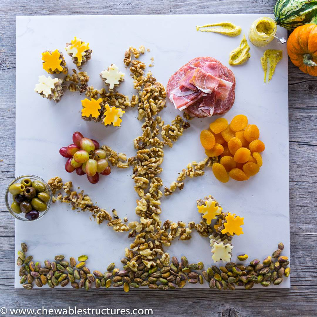 Fun Snacks to Make– Cheese and Charcuterie Tree